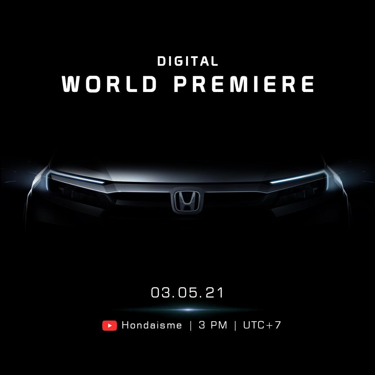 NEWS! hondajtasih.co.id - Honda Perkenalkan Mobil Baru Bulan Depan, All New BR-V?
