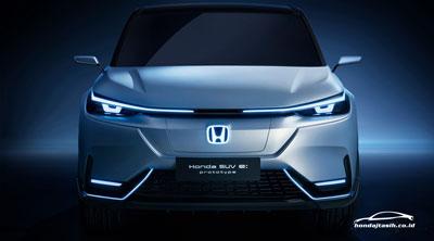 NEWS! hondajtasih.co.id - Honda SUV e: Prototype, Beginilah HR-V Bertenaga Listrik