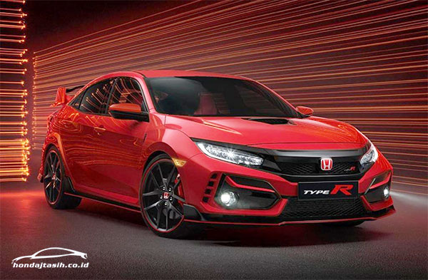 NEWS! hondajtasih.co.id - PT Honda Prospect Motor Hadirkan New Honda Civic Type R yang Semakin Sporty dan Agresif